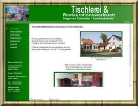 Tischlerei Siegmund Schneider in Sachsen aus dem Ort Laußig (Bad Düben)