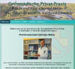 Orthopädische Privatsprechstunde Bad Düben MediClin