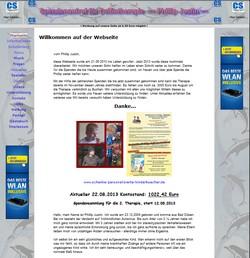Delfintherapie Phillip Justin, danke für die Hilfe, weitere Informationen unter www.stella-max.de/phill